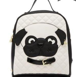 Betsey Johnson Kitsch Dog Mini Backpack
